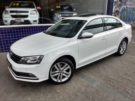 Vw Jetta Tsi Highline 2016/2016 Branco Top Teto Xenon Led