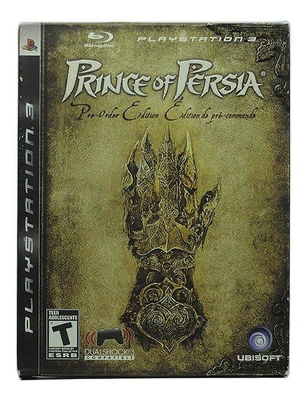 Prince Of Persia Limited Edition Ps3 Mídia Física