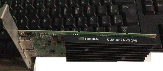Placa De Vídeo Nvidia Quadro Nvs295 11.2gb Ddr3 Pny