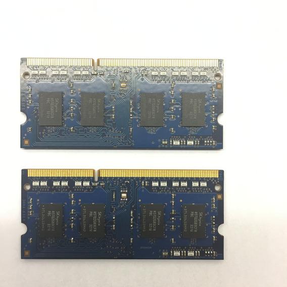 2x Memoria Notebook 2gb Ddr3 Pc3-12800s 1rx8 Frete Cod.072