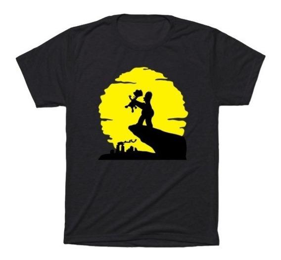 Camisa Camiseta Os Simpsons - Blusa Desenho