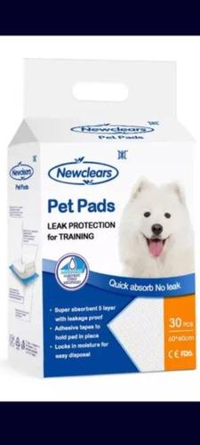 Imagen 1 de 8 de Sabanilla Mascota Perro 60x60 Baño Sanitario 120 Unidades
