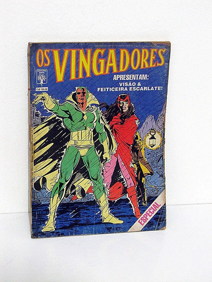 Os Vingadores N° 1 - Abril 1988 Edição Especial Bill Mantlo