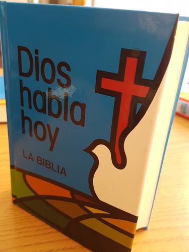Biblia Dios Habla Hoy Con Deuterocanónicos Con Ilustraciones