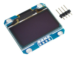 Display Oled 1.3 128x64 I2c Ssh1106 Arduino