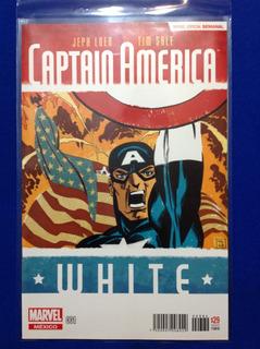 Comics Marvel Especial Semanal Capitán América: White #001