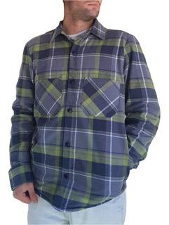 Camisa / Campera Leñadora Con Corderito De Invierno Hombre