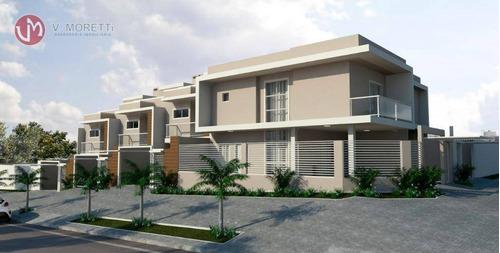 Sobrado Com 3 Dormitórios À Venda, 167 M² Por R$ 585.000,00 - Canadá - Cascavel/pr - So0042