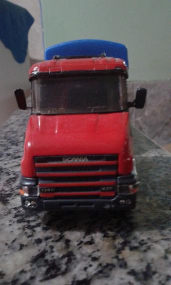 Miniatura Scania 124 Arpra Com Carreta Rodotrem!