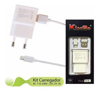 Cabo Tomada iPhone 5, 5c, 6 Plus, Original Kingo