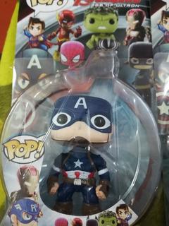 Funko Pop X 3 Unidades Capitan América Thanos Hulk..
