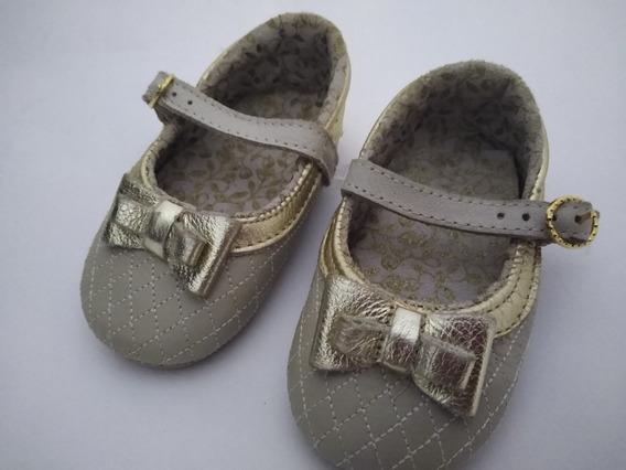 Sapato De Couro Para Bebê