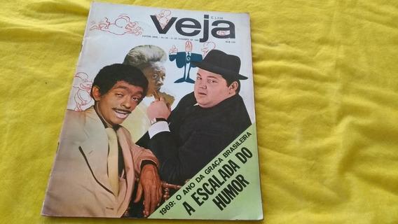 Veja Nº 69 A Escalada Do Humor Chico Anisio Jô Soares Dez 69