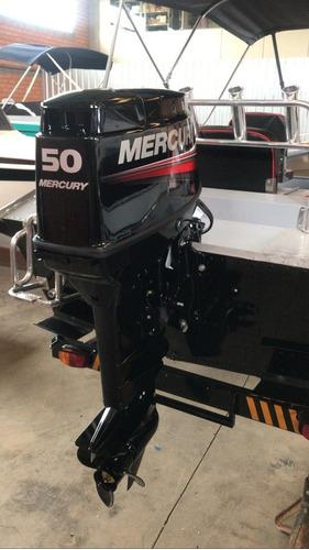 Imagem 1 de 3 de Motor De Popa 50 Hp Elo Mercury 2 Tempos
