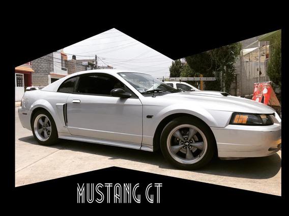 Ford Mustang 4.6 Gt Equipado Piel At 2002