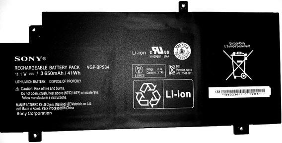 Bateria Notebook Sony Bps34 Svf15a1bcxs Svf15a1ccxb