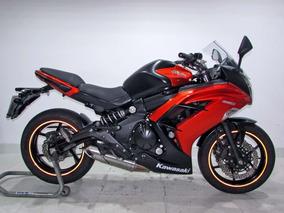 Kawasaki Ninja 650r 2014 Laranja