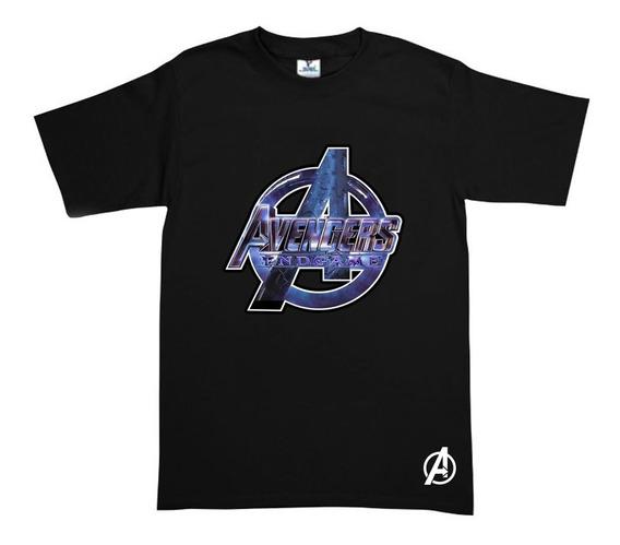 Playera Endgame Avengers Negra Envío Gratis!!