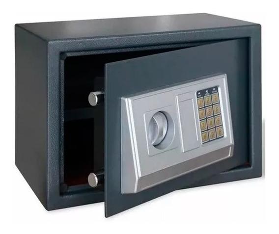Caja Fuerte De Seguridad Digital + 2 Llaves Teclado Numerico