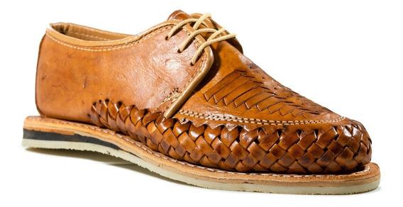 Huarache Zapato Artesanal De Cuero Unisex Modelo Original