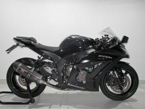 Kawasaki Zx 10r - 2015 Preta