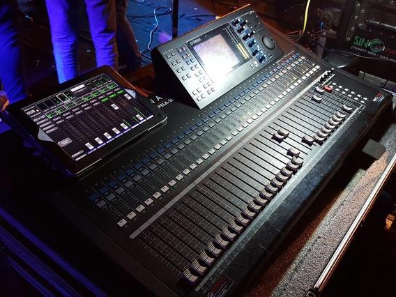 Mesa De Som Yamaha Ls 9 64 Canais Digital