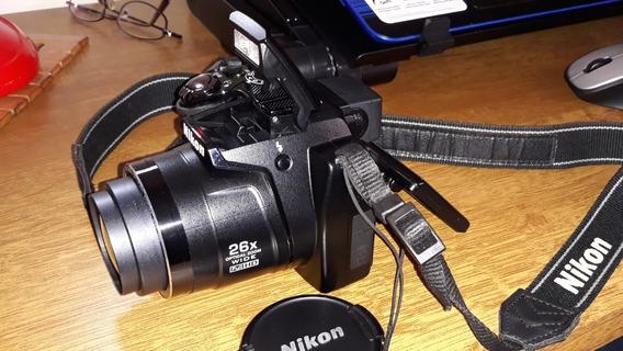 Maquina Digital Nikon Coolpix P100 Full Hd