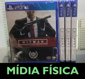 Hitman Definitive Edition Ps4 Mídia Física Lacrado Pt-br