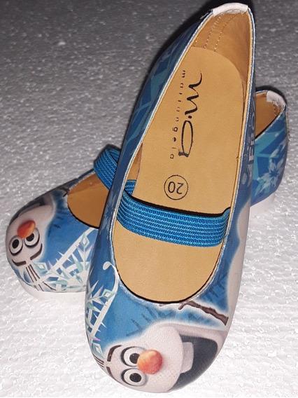 Zapatos Para Niñas Zapatillas Frozen