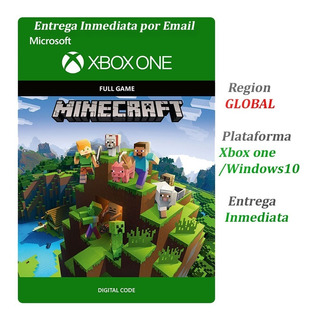 Minecraft Xbox One Original Global Codigo