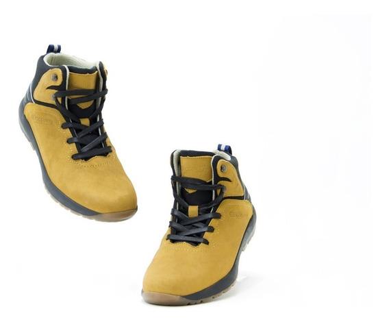 Bota Footwear Caballero Discovery 2060 Oro Negro Originales