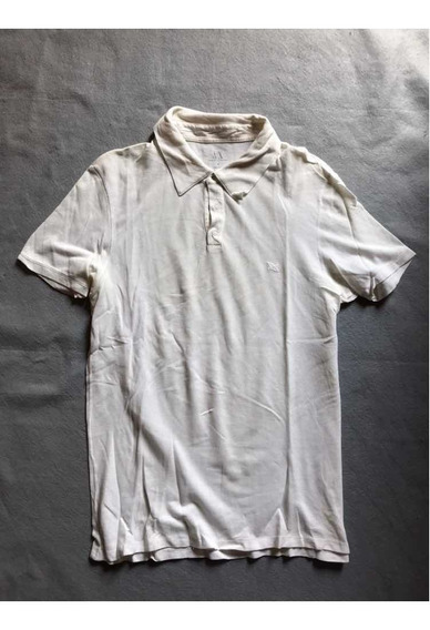 Playera Polo Armani Exchange Original Blanca
