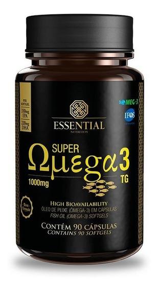 Super Omega 3 Tg (90caps De 1g) Essential Nutrition