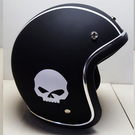 Capacete Old School Rebaixado Harley Davidson Iron Sportster