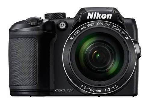Câmera Nikon Dslr Coolpix B500 16mp Wifi 40x Preto