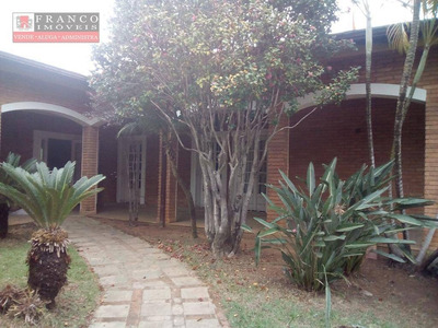 Casa Comercial Com 8 Dormitórios Para Venda Ou Locação, 467 M² - Vila Embaré - Valinhos/sp - Ca0379