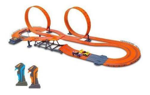 Pista Hot Wheels Track Set Zero Gravity Autorama 760 Cm