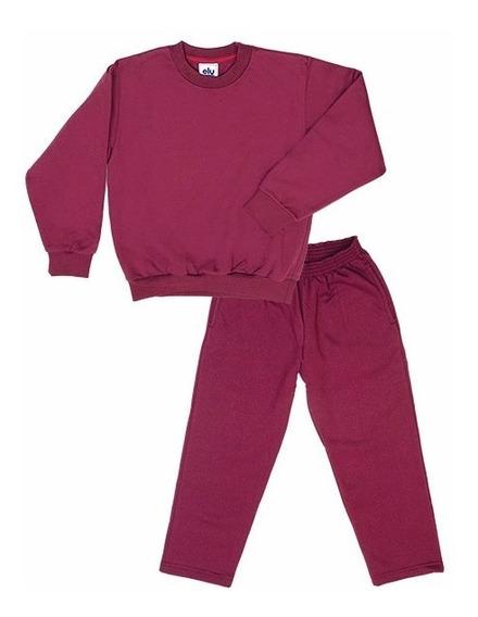 Conjunto Frisa Ely (buzo+pantalón) Talle S Al Xl