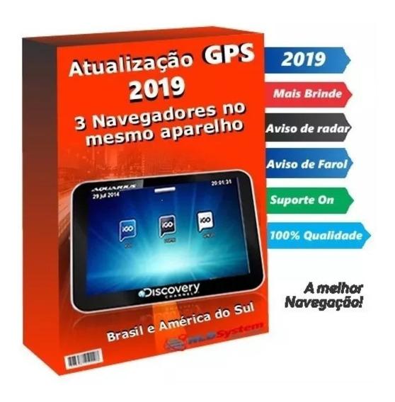 Cartão Gps 2019 4 Roda Airis Apontador Aquarius Bak Foston