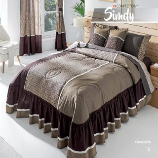 Edre Colcha Queen Size Incluye 2 Cojines Sindy Compe