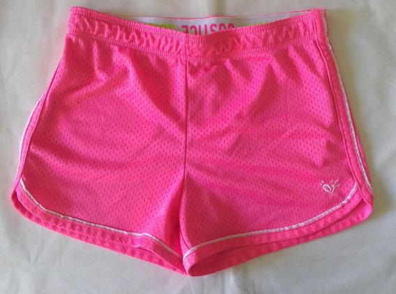 Short Justice Para Niña Talle 10 Color Rosa Chicle