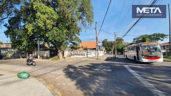 Terreno Para Alugar, 811 M² - Vila Valqueire - Rio De Janeiro/rj - Te0005