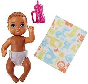 Barbie Niñeras Pañal Bebé Story Pack Fashion Muñeca Playsets