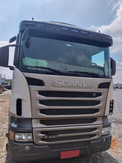 Scania R440 - 6x4 - 2015 - Com Retarder