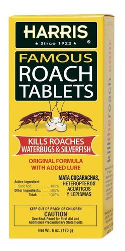 Imagen 1 de 4 de Harris Tabletas Para Cucarachas 6oz.