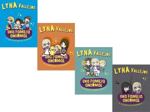 Pack Una Familia Anormal ( 4 Libros) - Lyna Vallejos