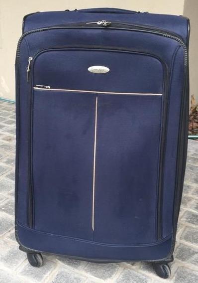 Valija Grande Samsonite 1910 Azul . Impecable!!!