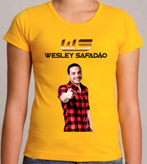 Camiseta Ou Baby Look Wesley Safadão