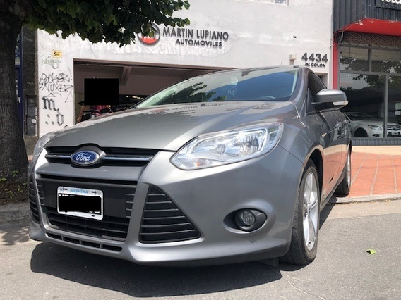 Ford Focus S 2014 Vtv Impecable Motor 1,6 Financio Permuto