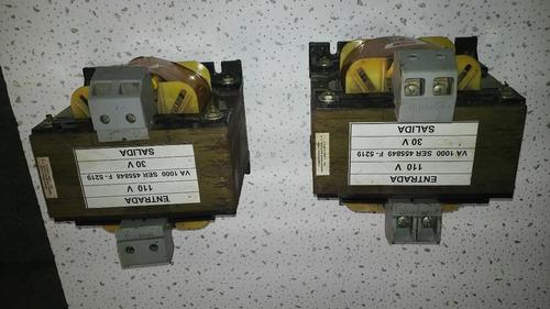 Vendo Transformador Seco De 1000 Va /110 Primario A 30 Sec.